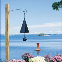 North Country Wind Bells Original and Authentic Maine Bar Harbor Wind Bell with Buoy Windcatcher