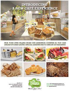 Published: biG Magazine – Mr Baker's Bakeshop New Cafe Ad