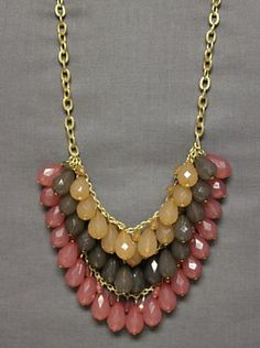 Pretty In Pink Necklace $19