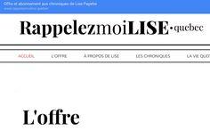 Le défi Internet de Lise Payette...