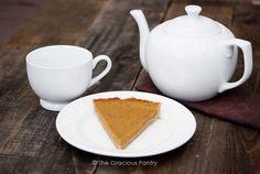 Clean Eating Pumpkin Pie Recipe on Yummly. @yummly #recipe