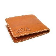 Pánská peněženka kožená TRE pro leváky Cognac - peněženky AHAL de233416a4