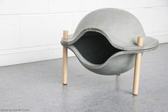 Cozy in Concrete | Yanko Design