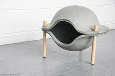 Cozy in Concrete   Yanko Design