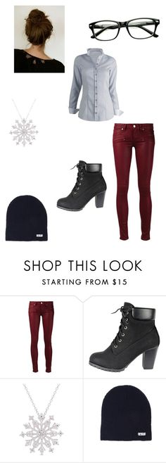 """""""Untitled #81"""" by mrs-flarrow-fangirl ❤ liked on Polyvore featuring Paige Denim, Finesque and Neff"""
