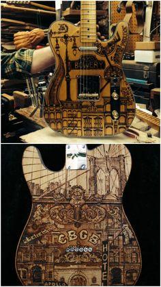 Rick Kelly Custom guitar