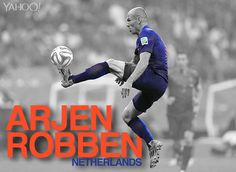 Arjen Robben, Netherlands: The Dutch wizard is known for unsettling defenders through pace and guile, and through the Netherlands' first two matches he was dependably himself. No doubt looking to erase the memory of a catastrophic miss in the 2010 final – converting said chance would have won his country the World Cup – he played like a man possessed in the 5-1 thrashing of Spain, scoring twice in the second half with his patented left