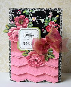Crafty Creations with Shemaine: Anna Griffin's Beautiful Trimmings Embossing folders & dies
