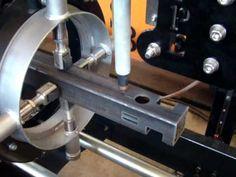 Corte CNC de tubo quadrado a plasma- Silber do Brasil
