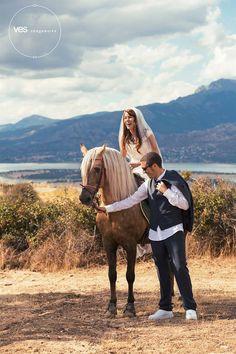 ves imagewoks, fotos de boda a caballo