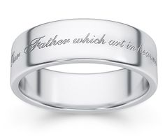 Her Price is Far Above Rubies White Gold Wedding Band 3 Wedding Bands, White Gold Wedding Bands, Gold Bands, Wedding Rings, Lord Is My Shepherd, Christian Jewelry, Band Rings, Sterling Silver Jewelry, Jewelry Rings