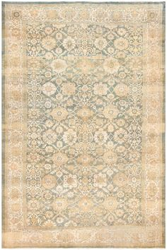 Antique Persian Sultanabad Rug 48550
