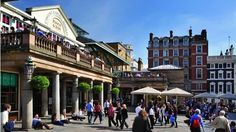 Covent Garden - London. Famous world-wide for it's unequalled mix of shops, restaurants, history, entertainment and culture.