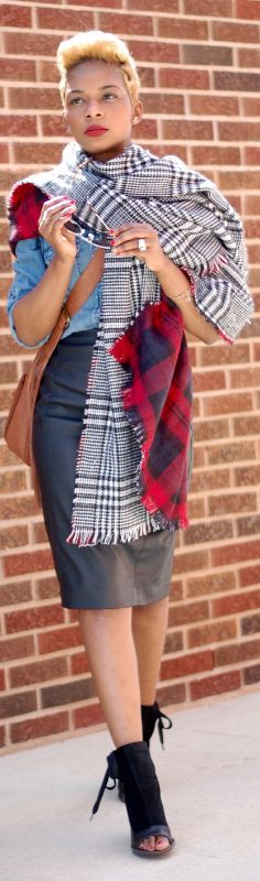 LAYERS & TRANSITIONS / Fashion By Young At Style women fashion outfit clothing style apparel @roressclothes closet ideas