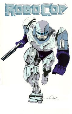 Robocop by Walter Simonson