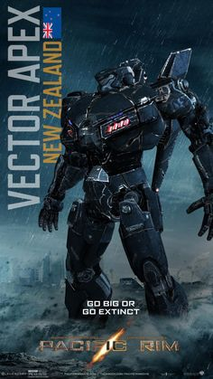 Pacific Rim Jaeger Posters round up