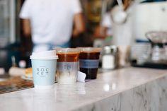 coffee to go Rocket Coffe Bar, en Bangkok | tránsito inicial