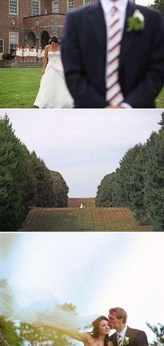 Crane Estate Wedding by Max Wanger   Style Me Pretty