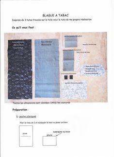 Couture : TUTO de BLAGUE A TABAC