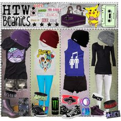 """""""HTW: Beanies!"""" by tips-tips-tipss on Polyvore"""