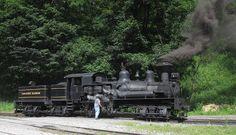 Sentinel Steam Loco 7109: Cass Scenic Railroad, West Virginia