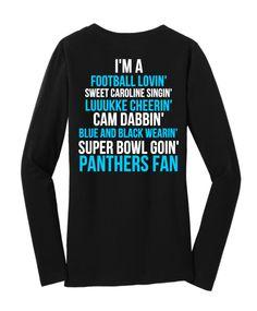 Limited Edition Carolina Panthers Super Bowl Long Sleeve Carolina Panthers  Shirt 48de6ed43