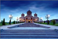 St. Gregory the illuminator church in Yerevan, Armenia