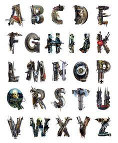War alphabet