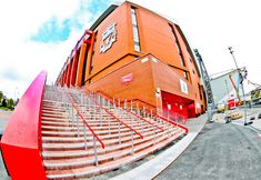 A stadium tour of Anfield, the home of Liverpool football club. The stadium is located in the suburbs of Liverpool. Soccer Skills, Soccer Tips, Football Soccer, Liverpool Football Club, Liverpool Fc, Countries Around The World, Around The Worlds, Liverpool Tattoo, Stadium Tour