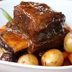 Slow Cooker Short Ribs Recipe by Tasty