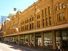Queen Victoria Building, Sydney's most beautiful shopping arcade, on George Street.