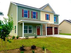 Another amazing New Liberty Series Home Comes Alive and New Owners Make it Their Own