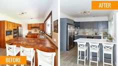 Renovating for Profit (Cherie Barber) ~ St Clair Kitchen