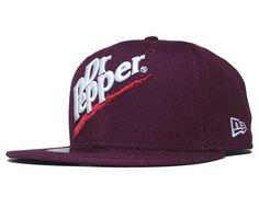 NEW ERA x SODA SERIES「Dr. Pepper」59Fifty Fitted Baseball Cap