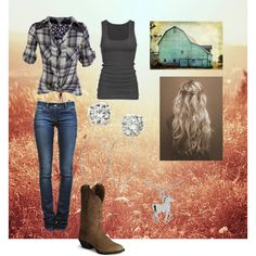 Country outfit / country girl