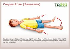 Corpse pose for yoga - 10 Amazing Yoga Poses for Your Kids to Keep Them Fit and Healthy Yoga Lessons, Lessons For Kids, Preschool Yoga, Physical Fitness Program, Physical Education Lessons, Childrens Yoga, Top 10 Home Remedies, Massage, Corpse Pose