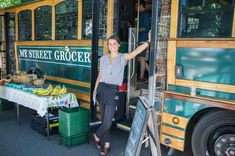 Amelia Pape is putting fresh food on wheels in Portland, Oregon!