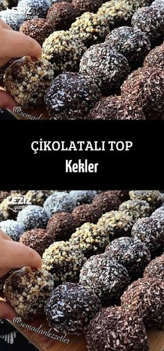 Chocolate Ball Cakes – My Delicious Food - Cupcakes Chocolate Lava, Chocolate Topping, Chocolate Cupcakes, Pie Recipes, Mexican Food Recipes, Mousse Au Chocolat Torte, Pizzelle Recipe, Fall Dinner Recipes, Kids Meals