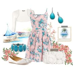 Love the floral dress