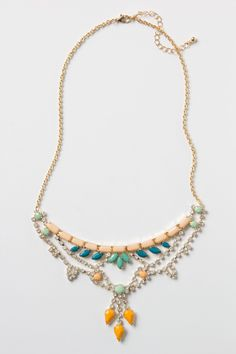Noronha Bib Necklace - I bought this at Anthropologie for Christmas one year when I received a gift card.