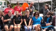 107.3 the Wave took the #icebucketchallenge for ALS!  It was a VERY chilly August day at our Food Truck and Farmers!  brrr....