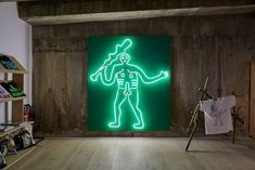 Jeremy Deller x Aries x David Sims' WILTSHIRE B4 CHRIST opens at The Store X Jeremy Deller, Turner Prize, David Sims, Mural Painting, Aries, New Art, Christ, Neon Signs, Store