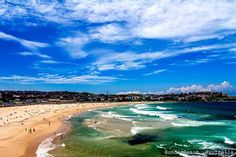 Stunning Beaches of the World: Bondi Beach, Australia A member of the Australian National Heritage List, Bondi Beach is home to golden sand beaches with perfect turquoise waves. One of the most famous beaches in Australia. In addition to being one of the most well-known beaches in the world, Bondi Beach offers something for everyone, from surfing to a stroll along the sand. barretttravel.globaltravel.com pamelabarrett22@gmail.com