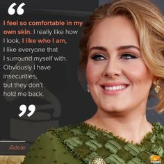 Day One Adele Fans — Happy Valentine's Day to all with some inspiration. Adele Quotes, Adele Adkins, Red Quotes, Inspirational Verses, Celebration Quotes, Words To Describe, Body Image, Amazing Quotes, Adele Songs