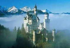 Neuschwanstein Castle:Snow white's castle.. a must see in Germany..
