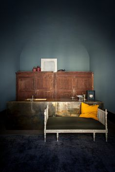 Progetto dello studio/residenza dei due designers Emiliano Salci e Britt Moran, fondatori di Dimore Studio.