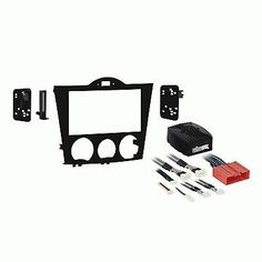 Dashboard Installation Kits: Metra 95-7510 Mazda Rx8 2004 2005 2006 2007 2008 Double Din Install Dash Kit -> BUY IT NOW ONLY: $158.94 on eBay!