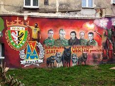 Armia Wyklęta - murale Wrocław #streetart #murale #Wrocław #graffiti #murals