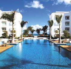 Endless pool at the Gansevoort Hotel in Turks and Caicos Islands 2015 Vacation… Need A Vacation, Vacation Places, Vacation Destinations, Dream Vacations, Vacation Spots, Places To Travel, Vacation Travel, Beach Hotels, Hotels And Resorts