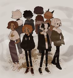 Cool Art Drawings, Art Sketches, Pretty Art, Cute Art, Hippie Art, Human Art, Cartoon Art Styles, Art Reference Poses, Character Design Inspiration